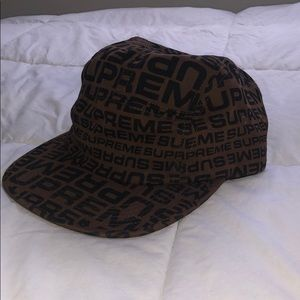 "Supreme ""fendi"" style five panel hat"